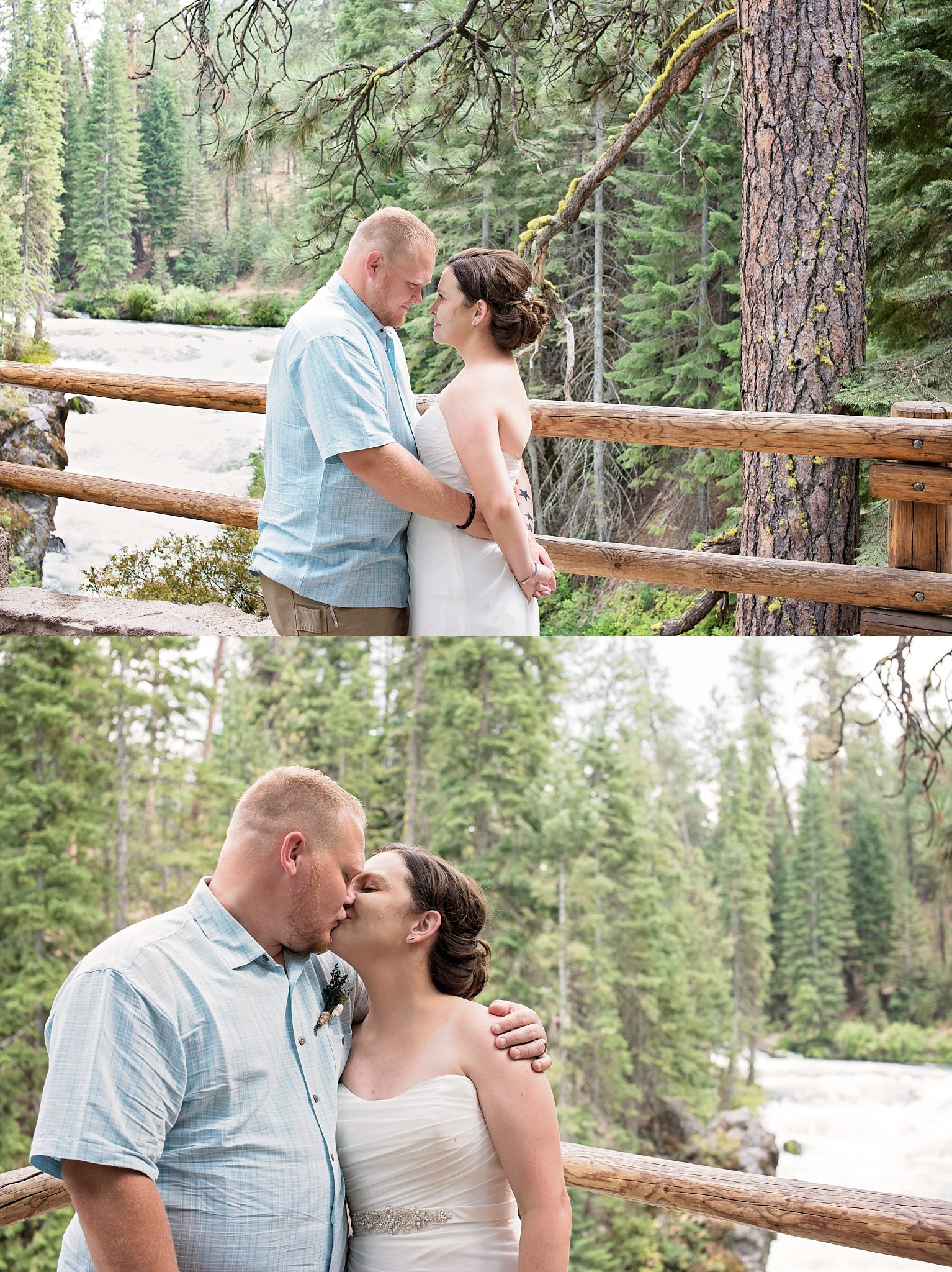 bend oregon photographer, bend wedding photographer, benham falls, oregon photographer, oregon wedding photographer